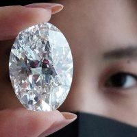 Sắp bán đấu giá viên kim cương to bằng quả trứng, có thể thu về 30 triệu USD