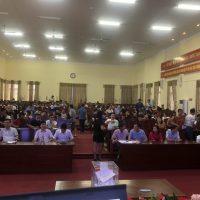 Hình ảnh phiên đấu giá ngày 03/10/2020 tại hội trường UBND phường Bần Yên Nhân, Thị xã Mỹ Hào