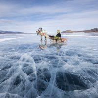 Chiêm ngưỡng lễ hội trên hồ băng Khövsgöl ở Mông Cổ qua bộ ảnh của Céline Jentzsch
